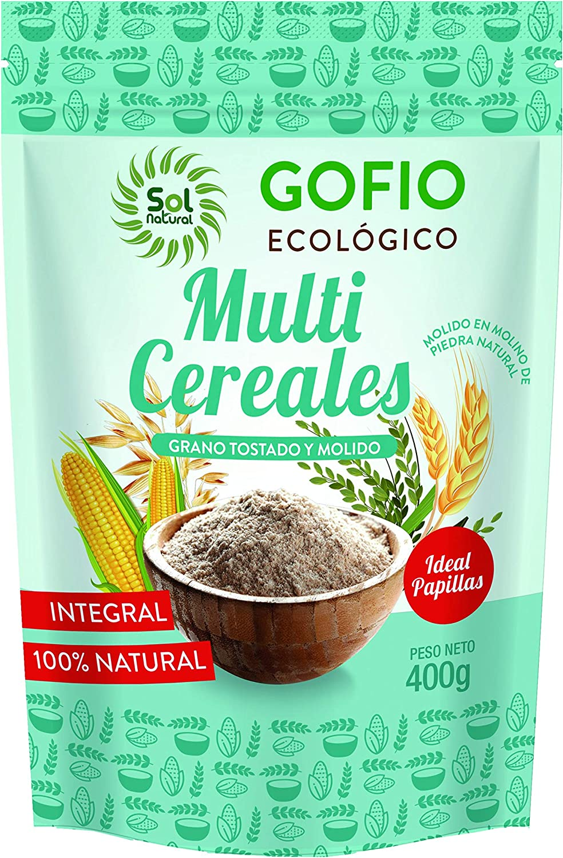 Sol Natural Gofio Multicereales Integrales Bio 400 gramos