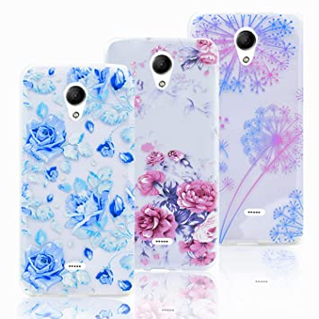 3pcs Fundas para Wiko UFEEL Lite / Wiko U Feel Lite: Amazon ...