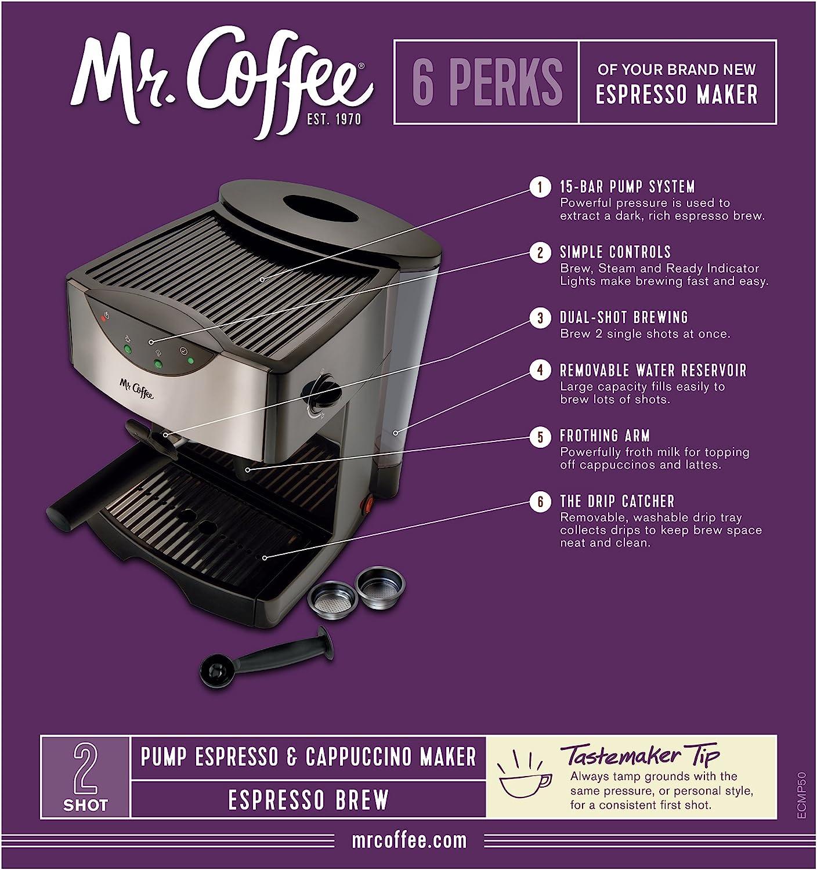 Amazon.com: Mr. Coffee, Sistema automático dual ...