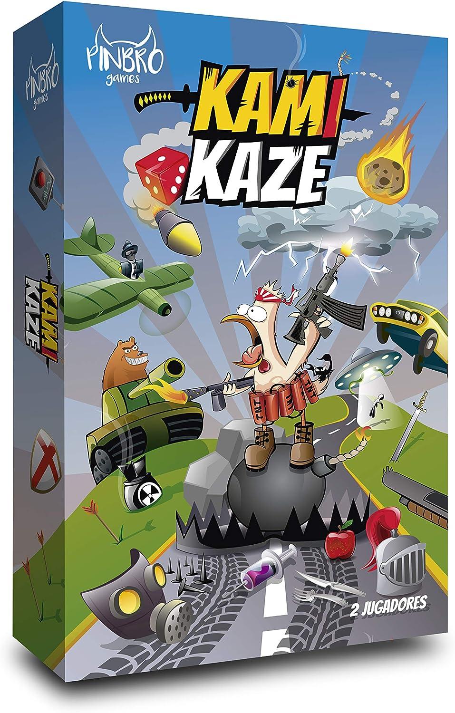Pinbro Games Kamikaze - Juego de Mesa [Castellano]: Amazon.es: Juguetes y juegos