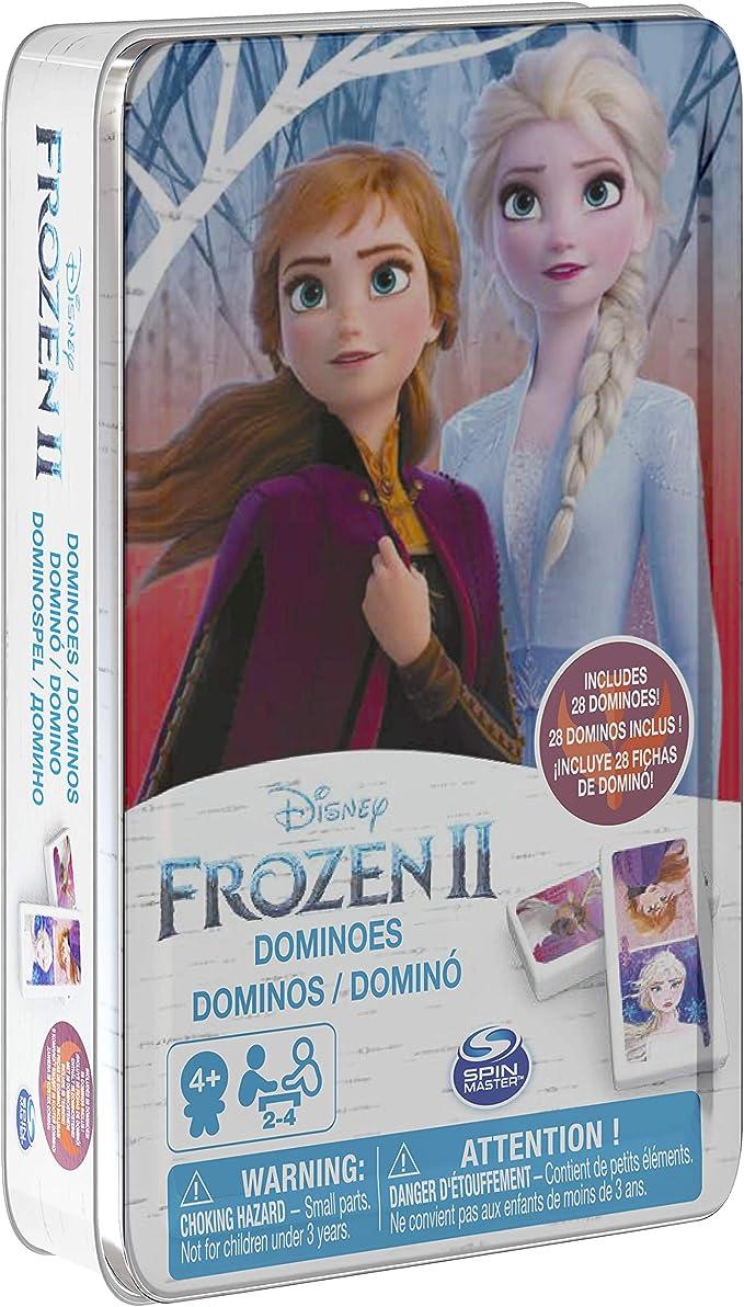 Disney Frozen 2 6053258 - Caja de Metal Dominos Frozen 2: Amazon ...