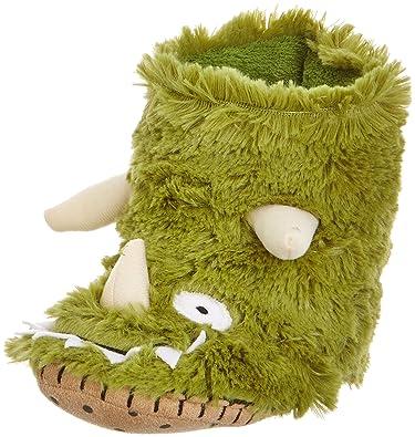 d9cbb83c98b5 Hatley Boys  Slouch-Dinosaur Slippers