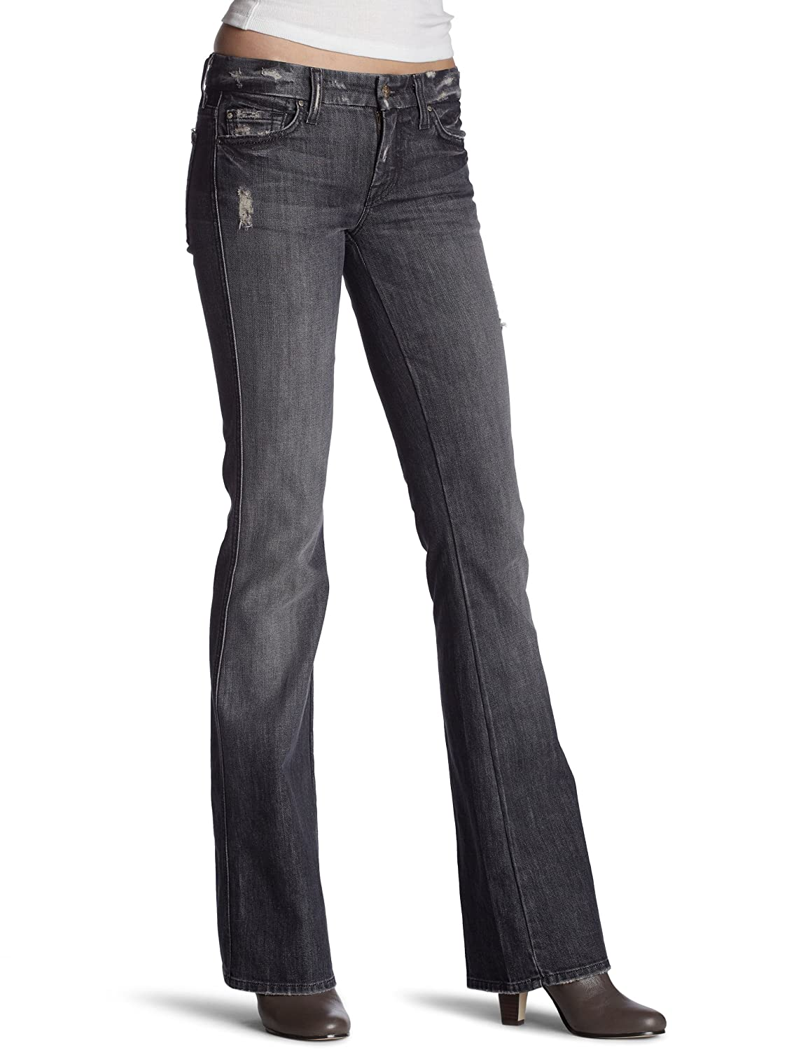 Vintage Port Lions 7 For All Mankind Women's Flare Wide Leg Jean