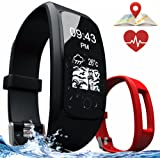Fitness Tracker – Smart Bracelet with Activity Tracker, GPS Tracker, Heart Rate and Sleep Monitor, Calories and Steps Counter – Smart Wristband for iOS and Android