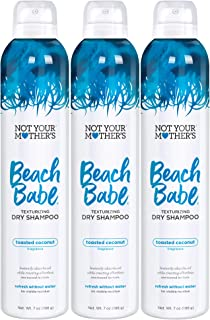 product image for Not Your Mother's Beach Babe Texturizing Dry Shampoo, 7 Ounce, 3 count, for all hair types