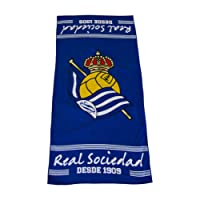 Real Sociedad Toarso Toalla, Azul/Blanco, Talla Única