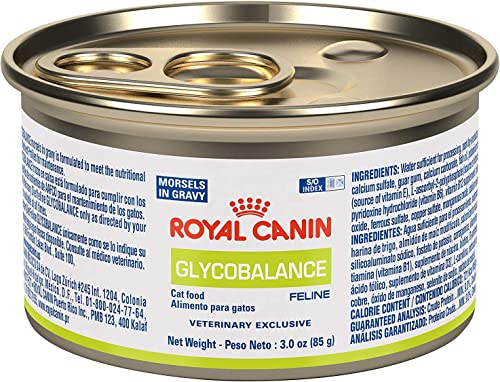 Royal Canin Veterinary Diet Diabetic Morsels In Gravy Canned Cat Food, 3-oz can, case of 24