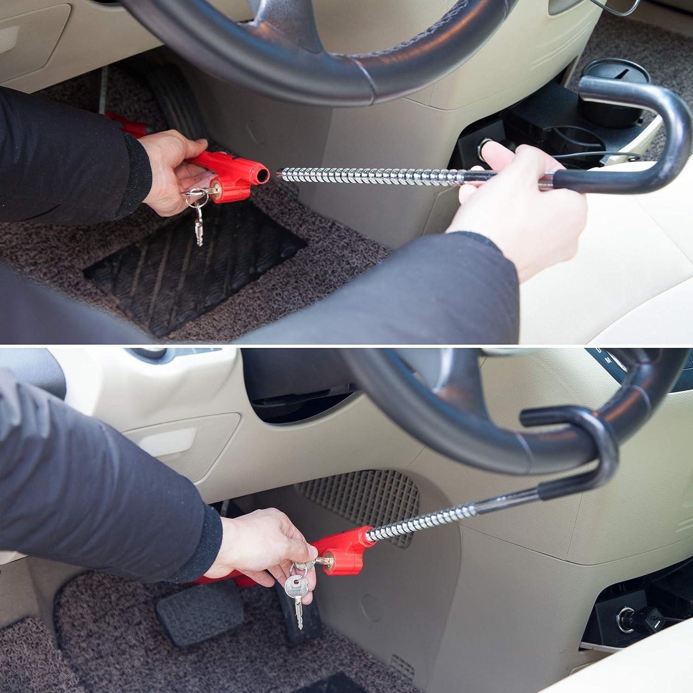 CARTMAN Anti-Theft Steering Wheel Lock to Brake Pedal Adjustablelock