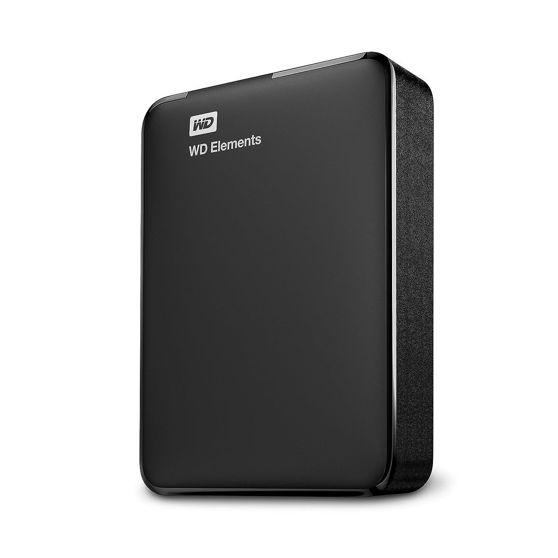 500 GB WD Elements Portable externe Festplatte WDBUZG5000ABK-WESN USB 3.0