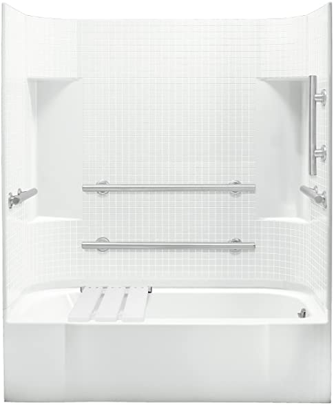 Sterling Plumbing 71140125-0 Accord Bath and Shower Kit, 60-Inch x ...