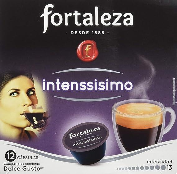 Café FORTALEZA - Cápsulas de Café Intenssisimo Compatibles con ...