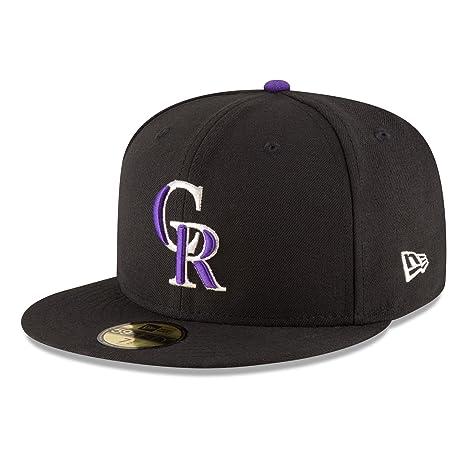 Nueva Era Colorado Rockies auténticos 59 Fifty MLB – Gorra (no Ajustable) 19dc0320156