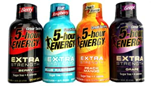 5-Hour Energy Extra Strength Variety Pack