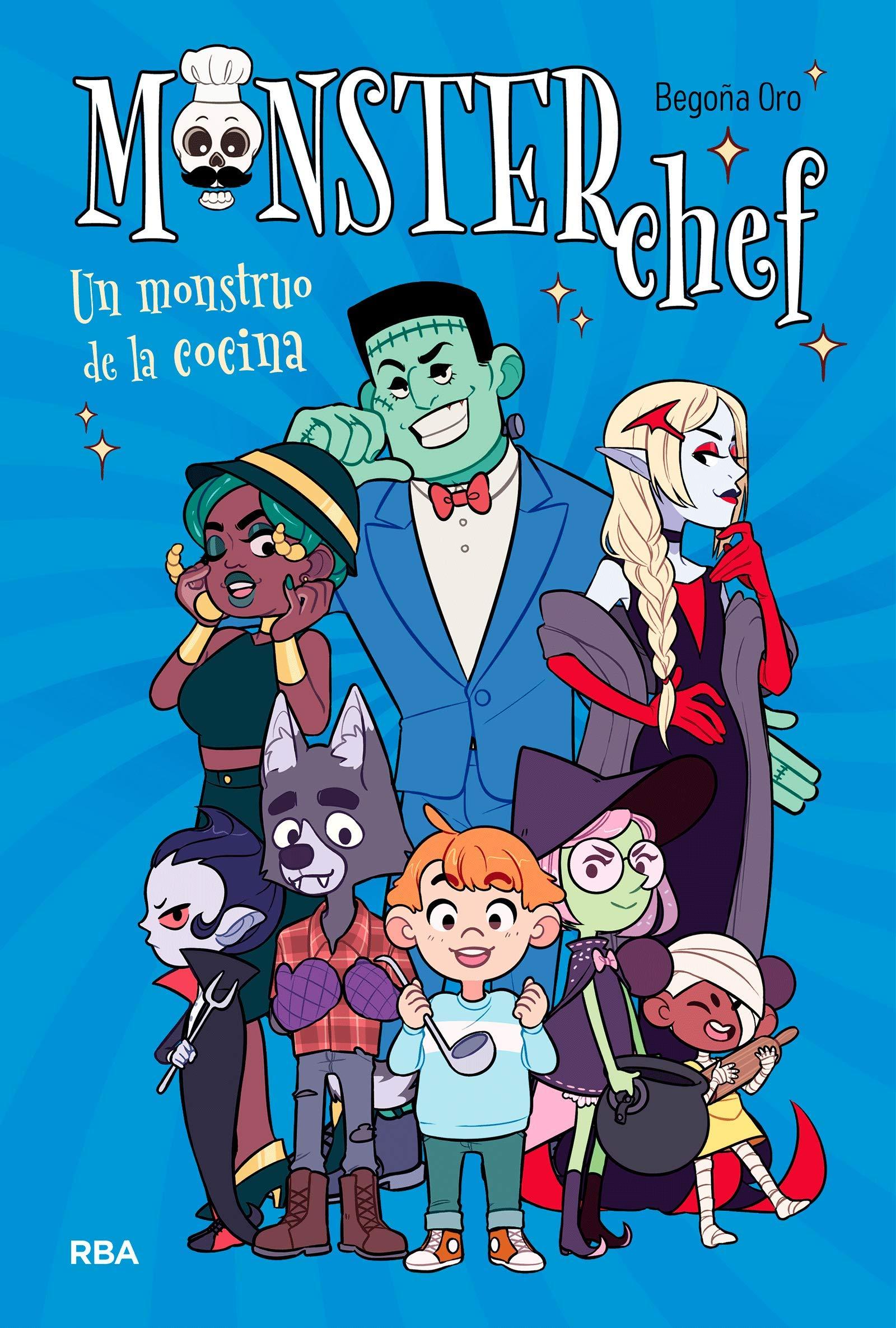 Monsterchef (FICCIÓN KIDS): Amazon.es: Begoña Oro, Tetra: Libros