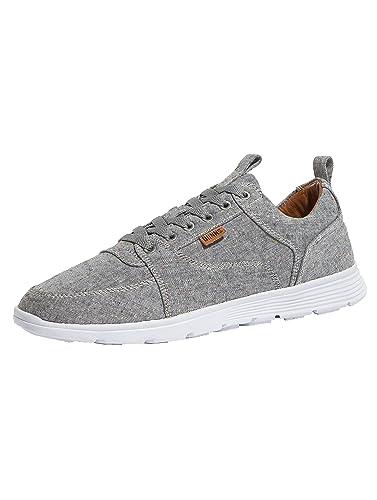 Herren Schuhe/Sneaker for Low Spotted Linen Grau 45 Djinns Verkauf Extrem xMTNIZf