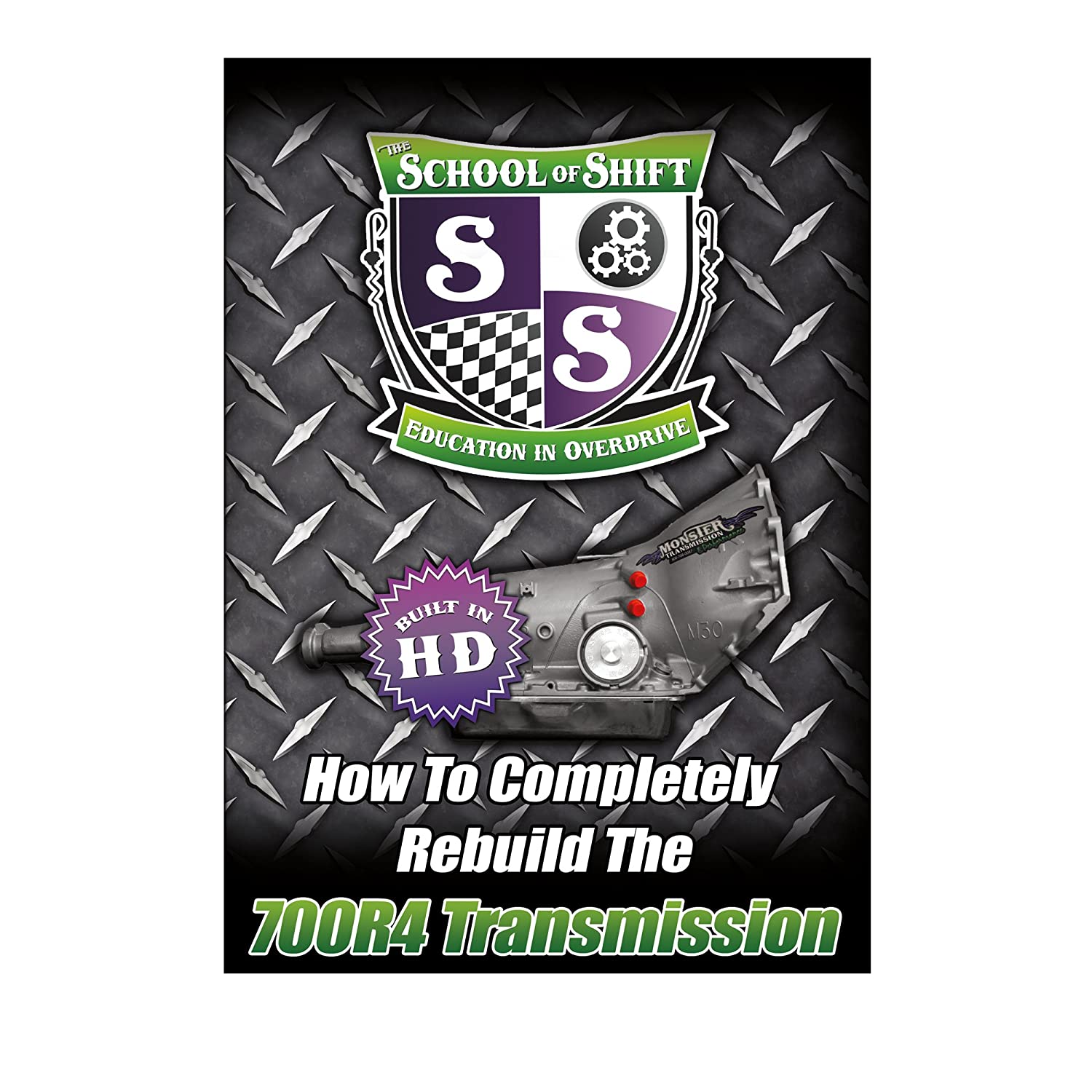 Amazon.com: Complete 700R4 Transmission Rebuild DVD - How to Completely  Rebuild the 700R4 Step by Step From Start to Finish: Automotive
