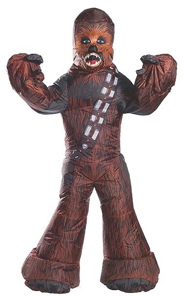 Amazon.com: Rubies Chewbacca - Disfraz inflable para adulto ...
