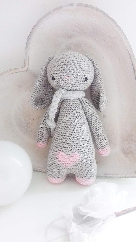 SweetyBunny, erstaunliche Puppe. Hä kelpuppe fü r Kinder und Erwachsene. Geschenkidee. Puppe. handgemachte gepolsterte Puppe. Kaninchen