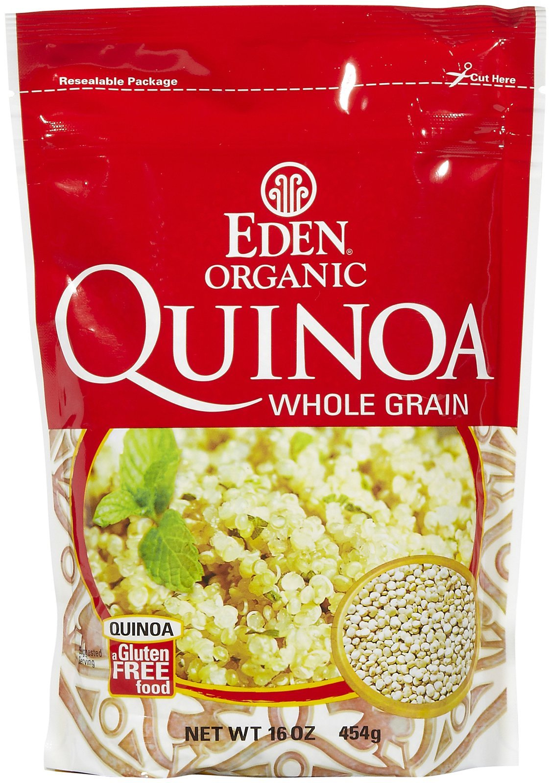 Eden Foods Organic Imported Andean Quinoa, 16 Ounce - 12 per case. by Eden