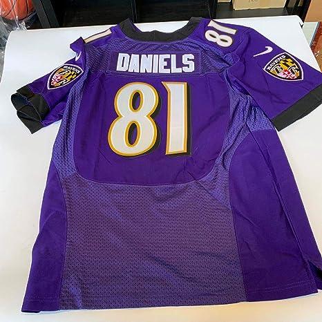the best attitude 25cda 828b9 Owen Daniels Baltimore Ravens Nike On Field Jersey Size 52 ...