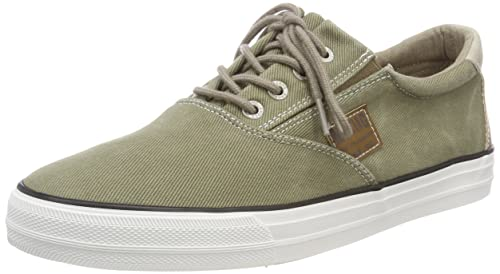 Mustang Lace-up Low Top Hombres Zapatillas: Amazon.es: Zapatos y complementos