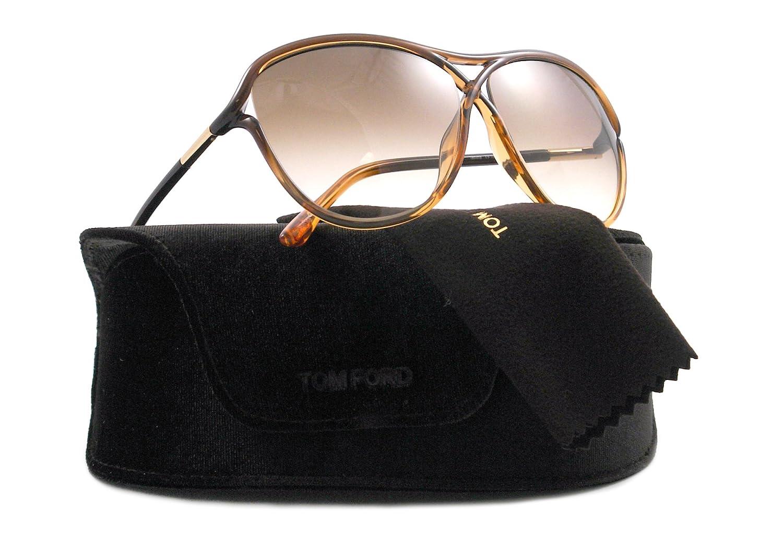 eb2e59a6b8 Tom Ford Sunglasses TF 183 HONEY 50F TABITHA  Amazon.co.uk  Shoes   Bags