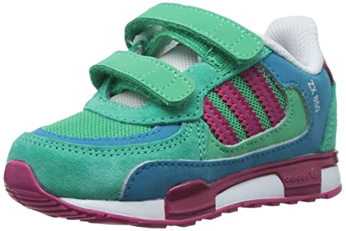 Adidas Originals Zx 850 Cf I Trainers - Solo Mint / Pink Buzz / Turquoise w6ld8D