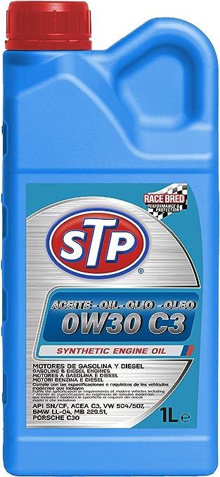 STP 0W30 C3 - Aceite para Motores Gasolina y Diesel (API SN/CF ...