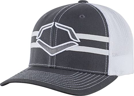 ce66d118d06 ... sale wilson sporting goods evoshield grandstand flexfit hat charcoal  white large x fa9a0 d147c