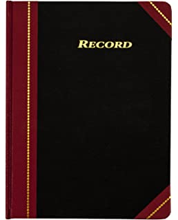Account Book 144 Pages Ledger Entry Record Ruled Keeping Gift 5 1//4 x 7 7//8 Inch
