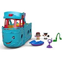 Fisher-Price 5-Piece Little People Travel Together Friend Ship Play Set