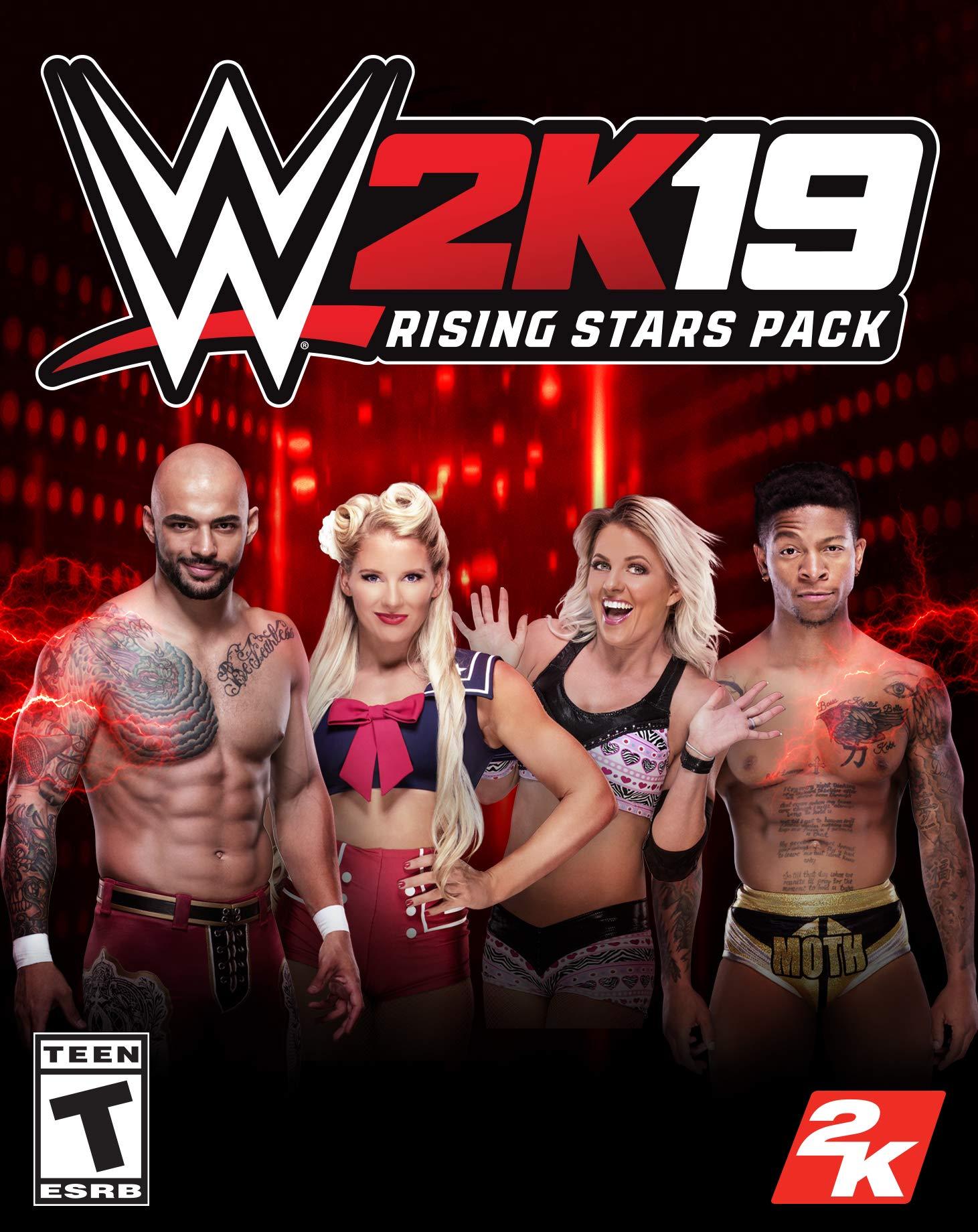 Amazon com: WWE 2K19 Rising Stars Pack [Online Game Code