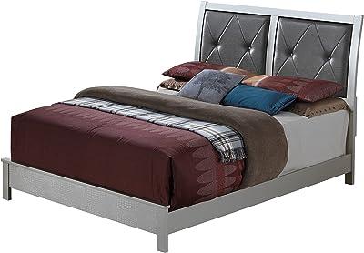 Amazon Com Ikea Malm Black Brown Full Size Bed Frame