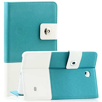size 40 87094 982a2 Tab 4 8 Case - SAWE Samsung Galaxy Tab 4 8.0 Hybrid Folio Case - Slim Fit  Premium Leather Cover with stand for Samsung Tab 4 8-Inch Tablet SM- T330 /  ...