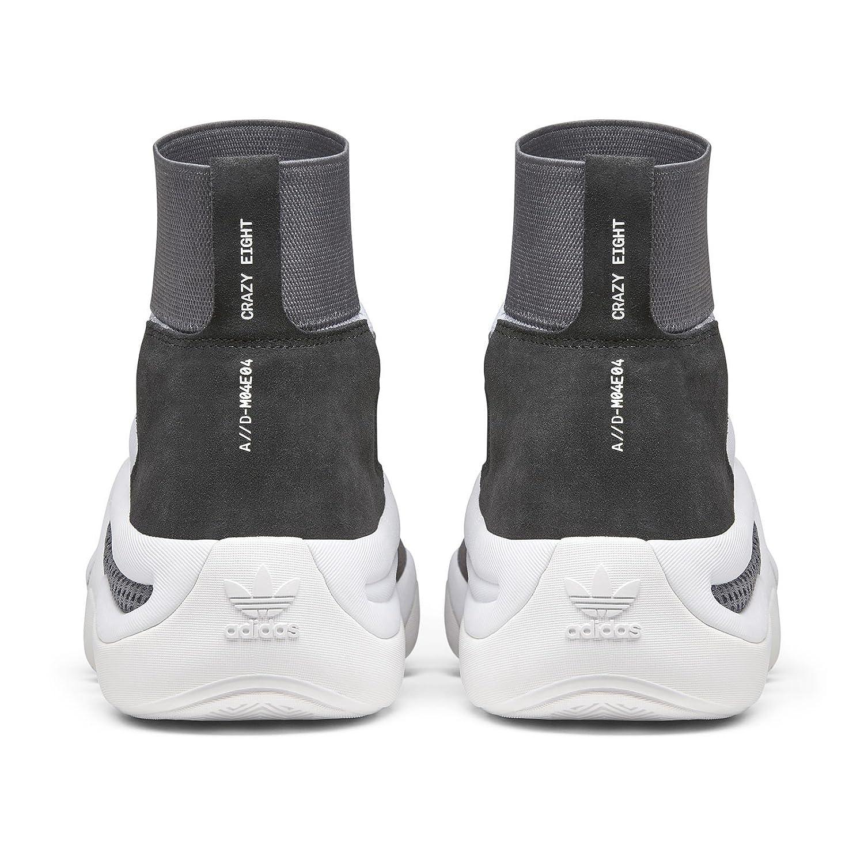 new arrival f130e 3433f Amazon.com | adidas Consortium Men Crazy 8 A//D Workshop (White/Core Black/Core  Red) | Basketball