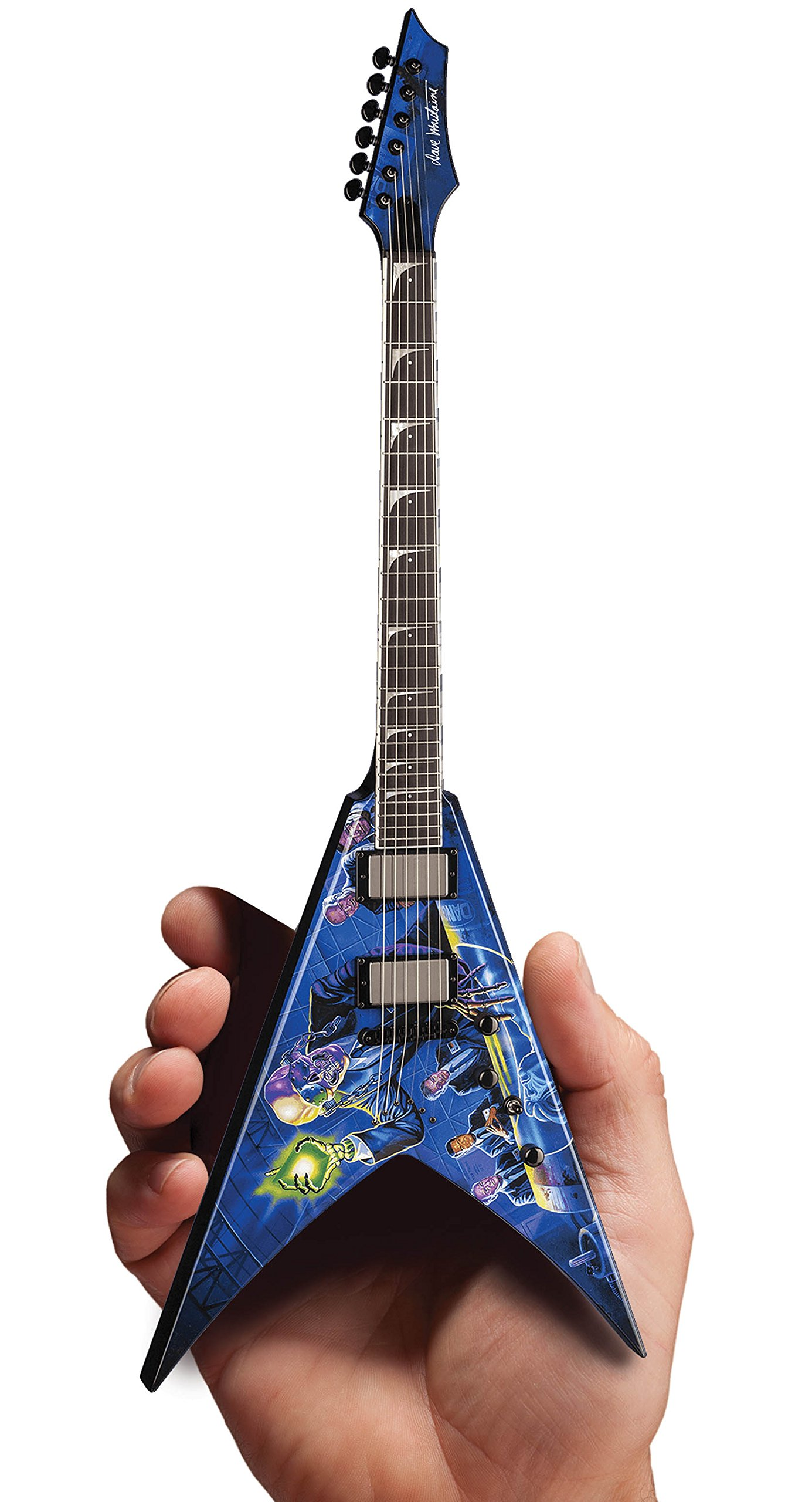 Axe Heaven Megadeth Dave Mustaine Rust In Peace Dean 1/4 Scale Guitar by AXE HEAVEN (Image #1)