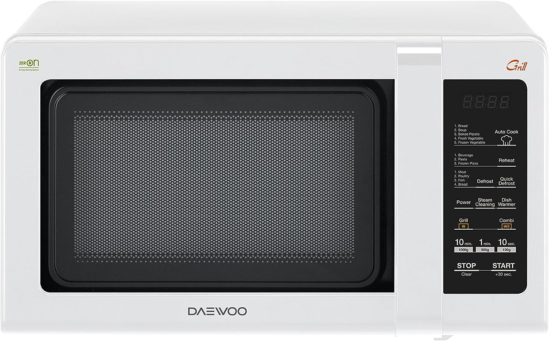 Daewoo kqg-662b Horno a microondas con grill 20L, 700W, blanco