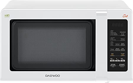 Bianco Daewoo KOG-6F27 Forno a Microonde 20 Lt Meccanico Combinato Grill 20 Litri 700 W