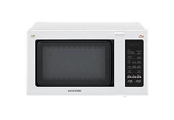 Daewoo kqg-662b Horno a microondas con grill 20 L, 700 W, blanco
