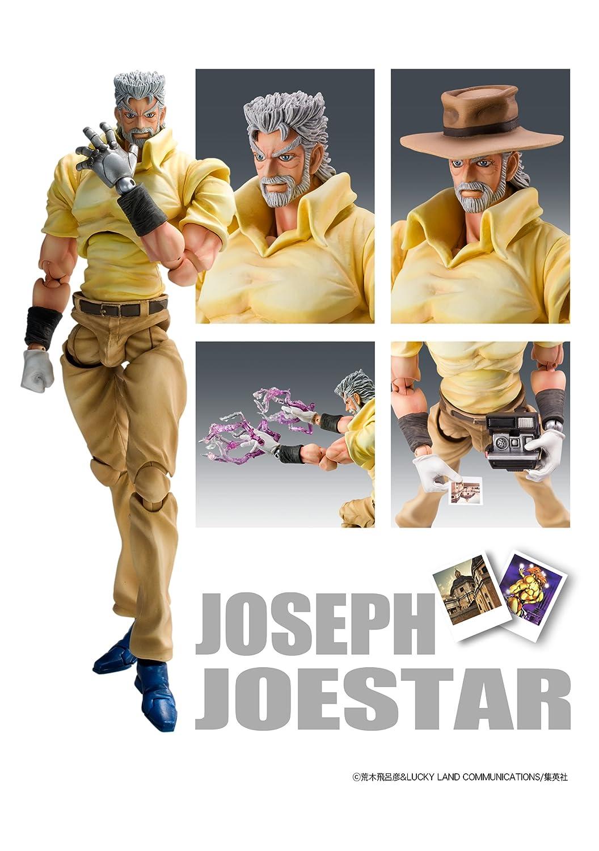JoJo/'s Bizarre Adventure Part 3 Joseph Joestar /& Iggy Super Action Figure JAPAN