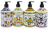 Combo Set 4, Italian Deruta Hand Soap Collection