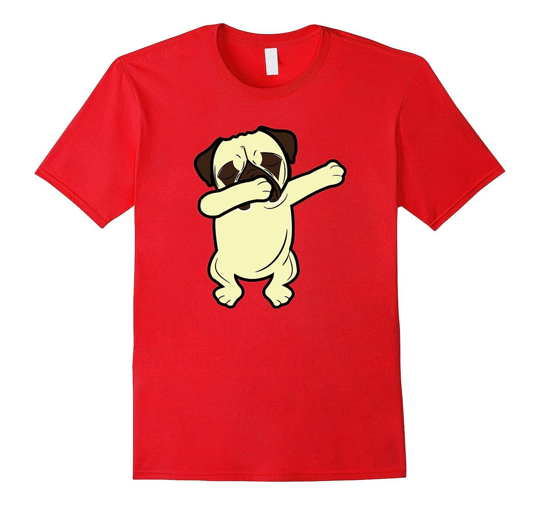 Dabbing Pug Funny Shirt Dab Dog Hip Hop-Vaci