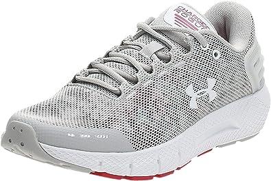 Under Armour Charged Rogue Amp, Zapatillas de Running para Mujer, Gris (Gray Flux/Impulse Pink/White (100) 100), 43 EU: Amazon.es: Zapatos y complementos