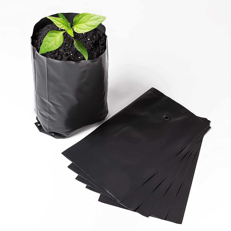 Nursery Pots Plant Grow Bags 15 pcs Seedling Planter 16/28?m (6.3