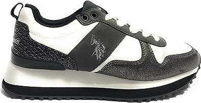 Scarpe Donna US Polo Sneaker Running Mod. Tabitha Tessuto ...