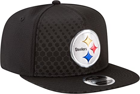 finest selection 1aef0 f3c36 Amazon.com: New Era Authentic Pittsburgh Steelers Black 2017 ...