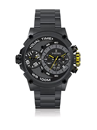 Timecode Albert 1905 TC-1003-04 Black Stainless steel 50mm Men s Watch  BLACK GRAY 041972c1411