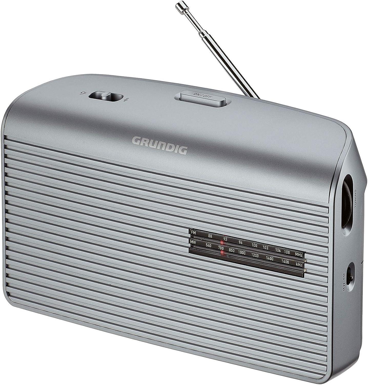 Grundig Music 60 Empfangsstarkes Radio Im Modernen Design Silver Heimkino Tv Video