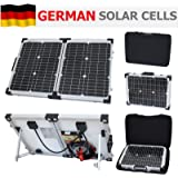 40W 12V Photonic Universe folding solar charging kit for a motorhome, caravan, campervan, car, van, boat, yacht - ideal for camping, caravanning, motorhome rallies, trade shows, mobile offices or any other off-grid 12V system (40 watt 12 volt)