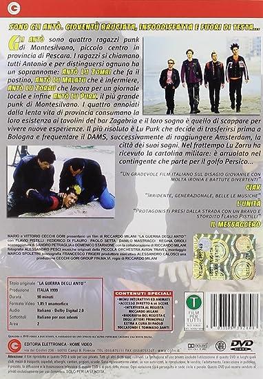 la guerra degli antò (dvd): amazon.it: flavio pistilli, paolo ... - Persici Arredo Bagno Bologna